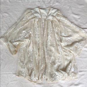 "Embroidered UO ""Kimono"""